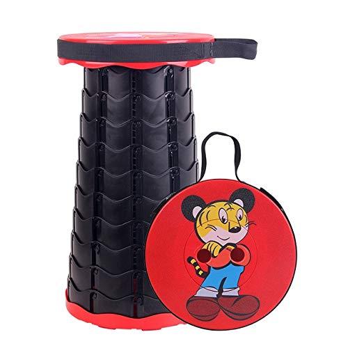 QHKS Taburete plegable plegable Chiar al aire libre portátil plegable silla silla de camping conven