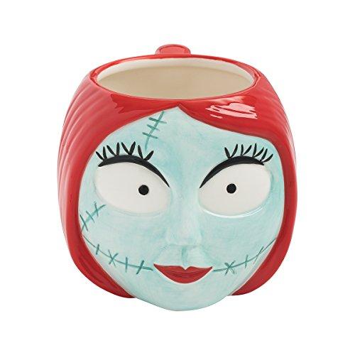 Vandor Sculpted Ceramic Mug, Nightmare Before Christmas - Sally