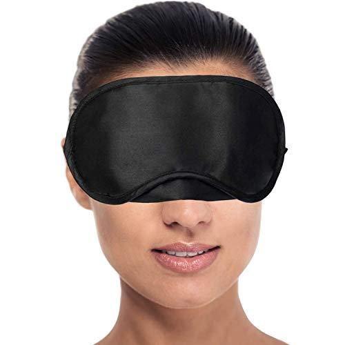 RiptGear Sleep Mask for Women and Men - Soft Ultralight No Pressure Eye Mask for Sleep and...