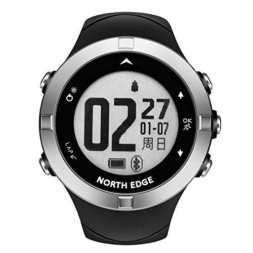 OOLIFENG Sport Horloge met GPS, Stappenteller Kompas Hartslagmeter 50M Waterdicht voor Wandelen, Zwemmen en Fietsen training