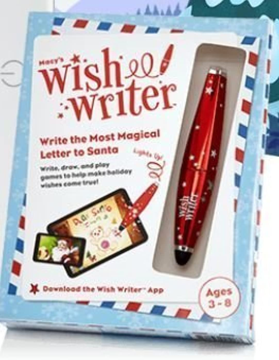 Wish Writer - Write Letter to Santa Sylus - Drawing by Macy's