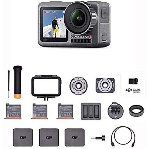 DJI Osmo Action Prime Combo - Actionkamera mit Zubehörkit inkl. DJI Care Refresh, 12MP 1/2,3