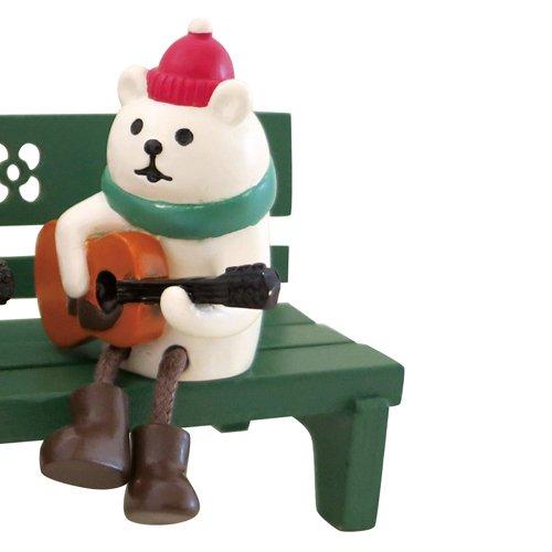 クリスマスまったりマスコット ギターデュオ しろくま DECOLE/デコレ