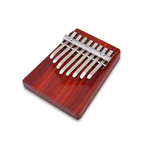 SolUptanisu Calimba Instrument, 8 sleutels, Thumb Piano African Finger Mbira Portable Thumb piano muziekinstrument, houten speelgoed voor kinderen volwassenen en beginners