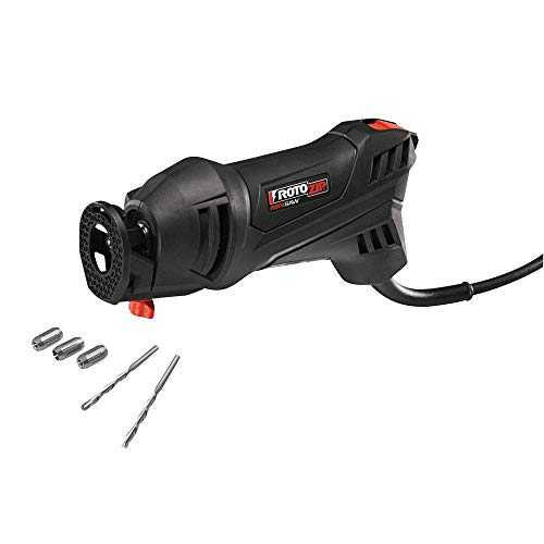RotoZip RotoSaw 120V 5.5Amp High Speed Spiral System w/Accessories (Renewed)