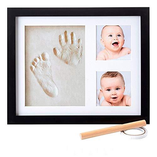 Little Hippo Baby Footprint & Handprint Kit - NO MOLD FRAME! Baby...