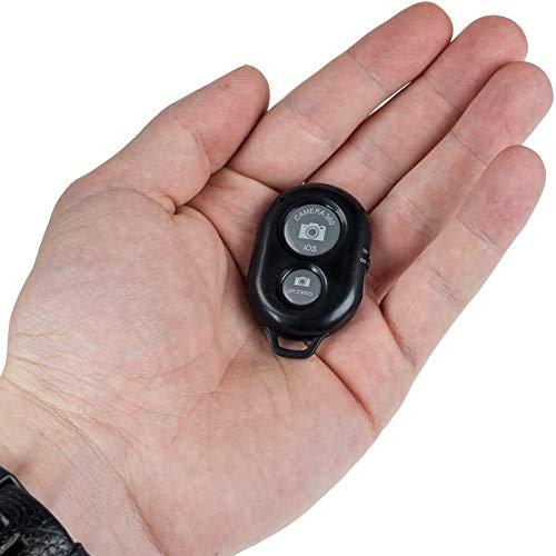 Cestbon Bluetooth liberación remota telefónica - Control Remoto del Temporizador de la cámara - iOS y Android - para teléfonos Inteligentes y tabletas - en Negro,Negro
