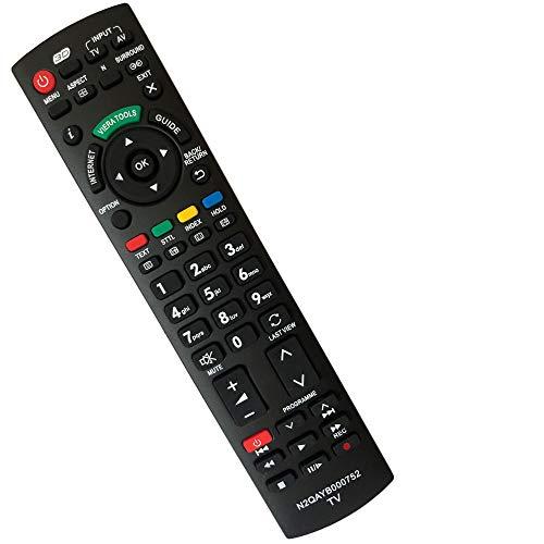 FYCJI N2QAYB000752 Reemplazode Mando a Distancia Panasonic, para Mando Panasonic Viera TV Universal