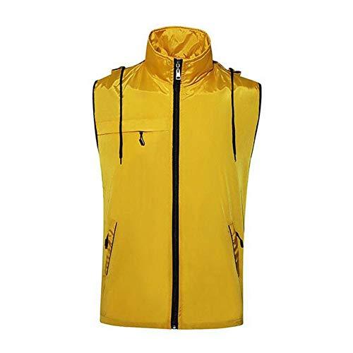 Dames Outdoor Warm Dik Vest, Fietsen ski Vissen Waterdichte Mouwloze Jas Vrouwen Winter Wandelen Kleding Retro XXXX-Large Kleur