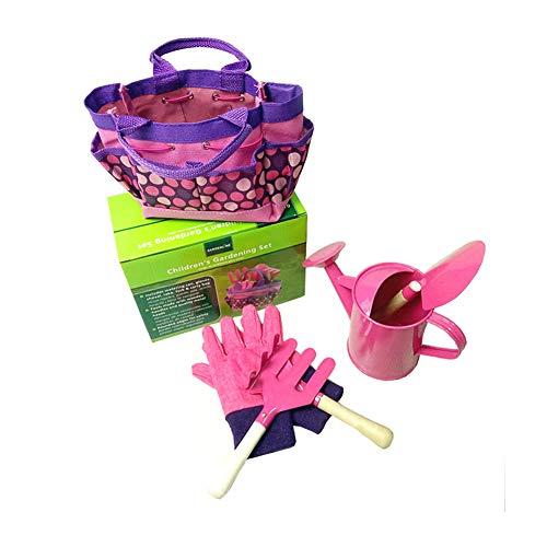 YunNasi Children's Gardening Tools Set of 6 Outdoor Garden Toys for Kids...