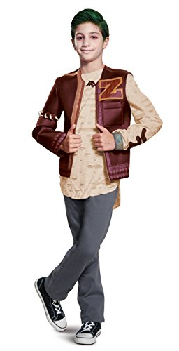 Disguise Disney Zombies Zed Deluxe Boys' Costume Red, X-Large/(14-16)