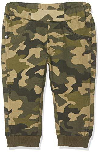 MEK Baby Jongens Pantalone Felpina Garzata Stampa Camouflage Broek