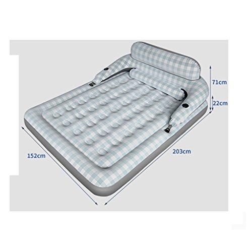 LSX-Air matras Mediterrane Stijl Opblaasbaar Bed 1 Persoon 2 Personen Thuis Opblaasbaar Matrasopvouwbare Outdoor Air Bed oyo