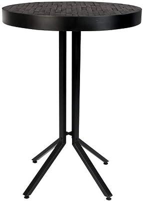 Felis Lifestyle Bar Table Maze Round Black, Taille Unique