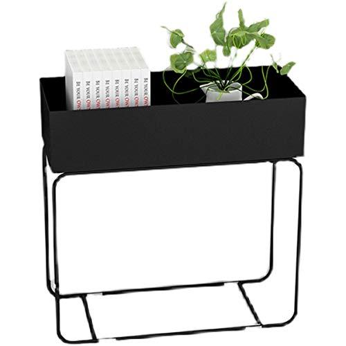 Yang baby Planter Box Flower Stand, Raised Planter Box Standing Rack, Outdoor Elevated Garden Flower Bed Pots, For Vegetables Flower HerbPatio Or Indoor Storage Shelf Bookshelf, Size: 60 * 60 * 25cm