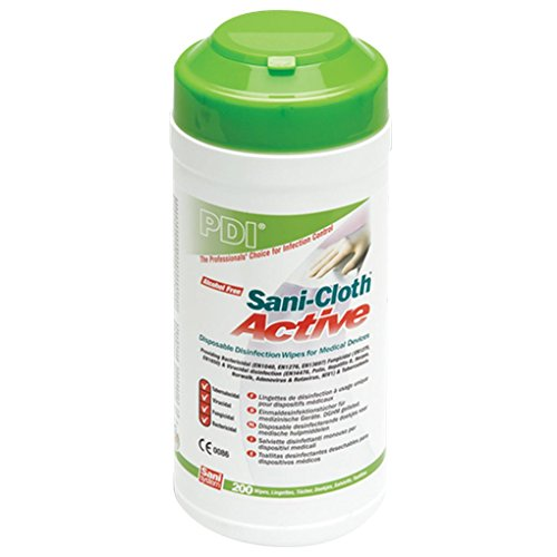 PDI Sani-Cloth Active Alcohol Free Wipes, Canister of...