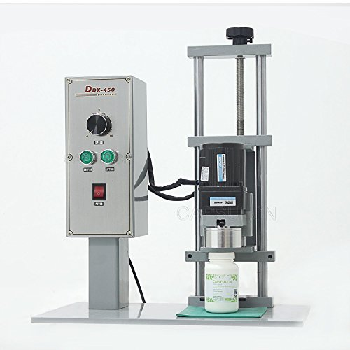 Lowest Price! DDX-450 Electric Desktop Capping Machine,Water Bottle,Round Capping Machine,Bottle lid...