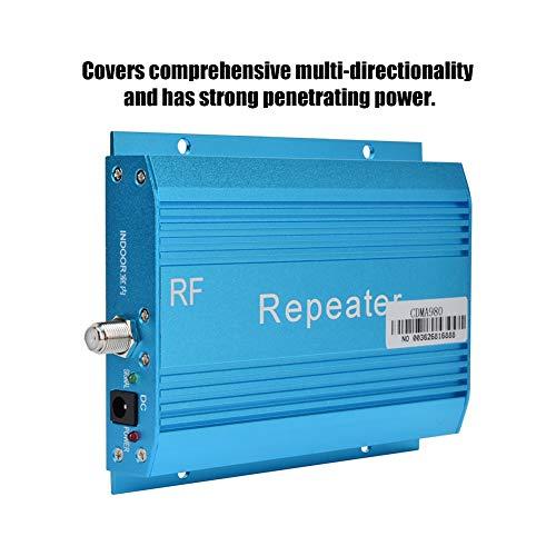 Wendry telefoonversterker, 100-240 V, blauw, versterkte gsm-signaalversterker CDMA980, 850 MHz, blauw (stralingsbarrière, effectieve straling, stabiele prestaties), EU.
