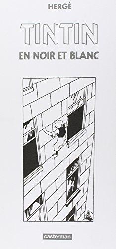 Les Aventures de Tintin : Tintin en noir et blanc : Coffret de 9 volumes