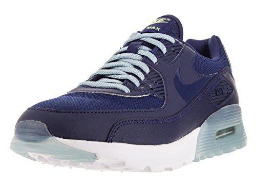 Nike Damen W Air Max 90 Ultra Essential Sportschuhe, Blu (Lyl Bl/Lyl Bl-bl Gry-Brght CRM), 38 EU