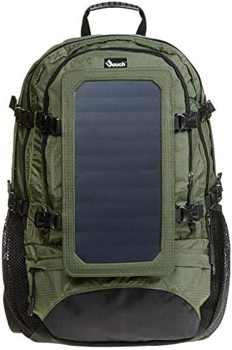Jauch Very popular Backpack JDP Ranking TOP8 Vancouver 46 with 7 Solar Pane Removable Watt
