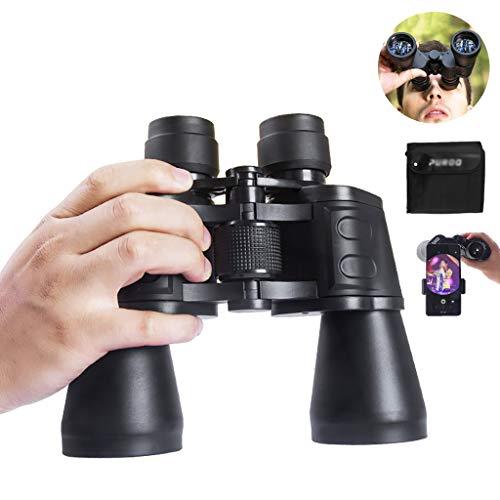Krachtige Verrekijker voor Volwassenen HD Professional met Weinig Licht Nachtzicht Geweldig met Smartphone-adapter, voor op Reis Jagend Vogels Kijken