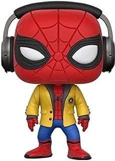 Marvel-21660 Figura de Vinilo Spider-Man with Headphones, Multicolor (Funko 21660)