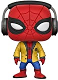 Marvel- Figura de Vinilo Spider-Man with Headphones (Funko 21660)...