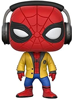 Funko Pop! Movies  Spider-Man HC - Spider-Man W/Headphones Collectible Vinyl Figure,Multi-colored