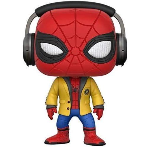 Marvel-21660 Figura de Vinilo Spider-Man with Headphones, Multicolor (Funko 21660): Amazon.es: Juguetes y juegos