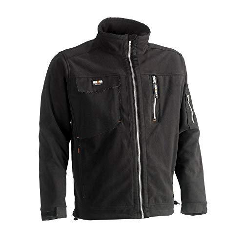 HEROCK® Workwear – HEROCK® Fleecejacke ZEUS Gr. L, schwarz