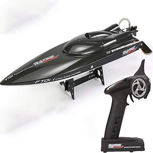 FATSW Kohlefaser Ferngesteuertes Boot RC Boot, High Speed 65KM/H Wasserkühlung 2,4 GHz Funkfernsteuerung für Wettbewerb Erwachsene & Kinder für Pool & Outdoor