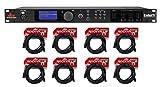 DBX DriveRack PA2 Sound Signal Processor Speaker Manage System+(8) XLR Cables