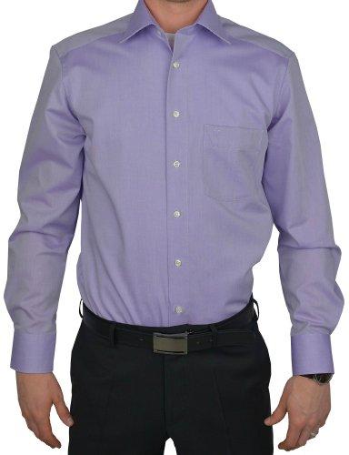 MARVELiS-Hemd 4704-64-95 SLIM-FIT flieder langarm: Kragenweite: 43 | Farbe: 95/violett