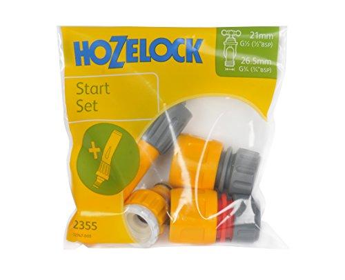Hozelock Juego Conectores básico con Lanza en Bolsa, Standard