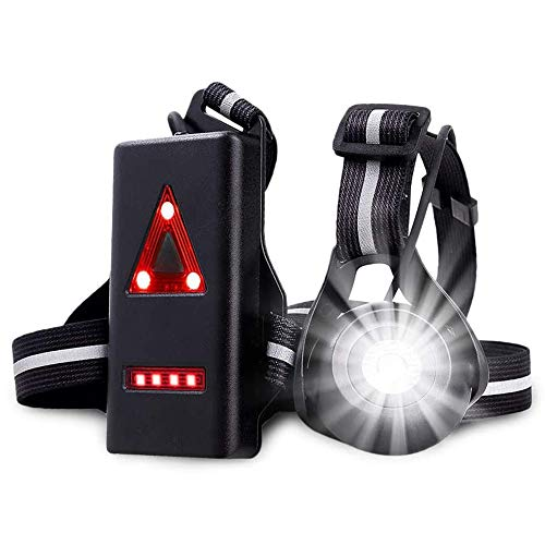 Wesho Running Light Chest Lamp – Body Torch for Runners Lights 90°...