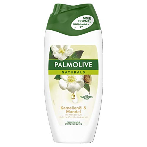 PALMOLIVE Duschgel mit Kamelienöl und Mandel, 3er Pack (3 x 250 ml)
