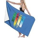 GFHDG Bath Towels Beach Blanket Towel Avatar The Last Legend Airbender of Korra Aang Large Soft Bed Beach Towel Sheet Bath Set Bathroom Accessories