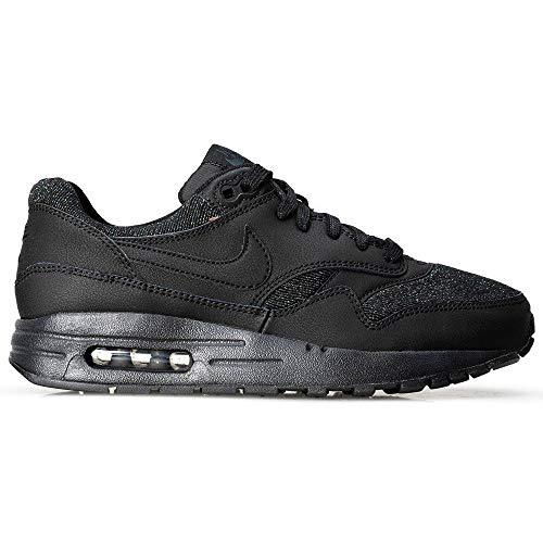 Nike Air Max 1 Se (GS), Chaussures de Running Compétition Femme, Noir (Black/Black-Anthracite-White 001), 36.5 EU