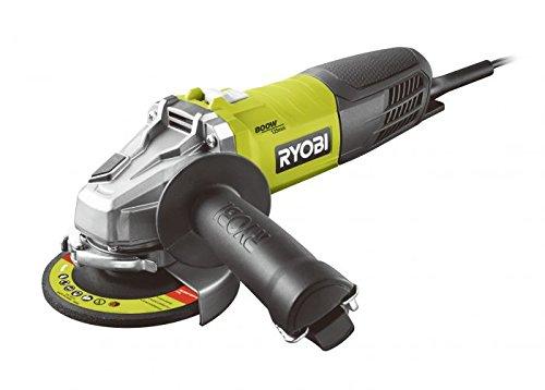 Ryobi 5133002491 RAG 800-125G haakse slijper 125 mm 800 W RAG800-125G, zwart, groen