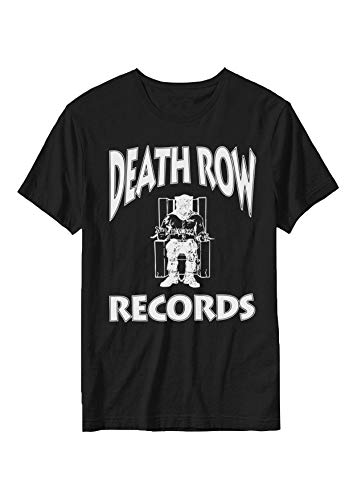 Death Row Records - Record Label Logo - Offiziell Herren T-Shirt - Schwarz, X-Large