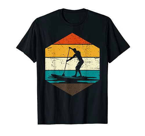 Retro Stand Up Paddle SUP T-Shirt