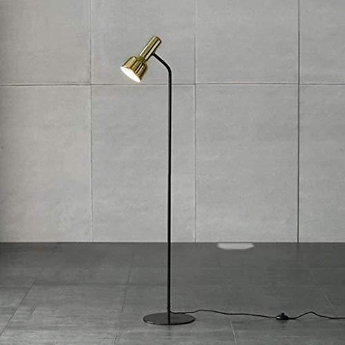 Raelf Minimalist E27 Leselampe Augenschutz Technologie Messing/LED-Fußboden-Lampe, Schlafzimmer, Wohnzimmer, Arbeitszimmer, Hauptbeleuchtung, Vertikal Lampe Nordic Schlafzimmer Personality Tischlamp