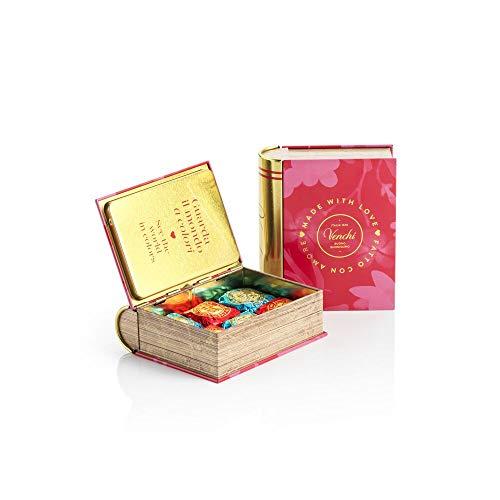 Venchi Surtido De Chocolates Chocoviar Presentado En Un Minilibro Metálico De Regalo - Sin Gluten 116 g