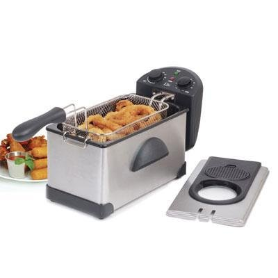 "3.5Qt Cool Touch Deep Fryer ""Prod. Type: Kitchen & Housewares/Deep Fryers"""