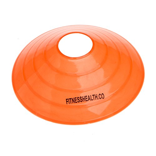 FH Marker Saucer Cones   Football Rugby Hockey Team Training Agility Drills (Cones 10-2 each colour)