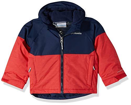 Columbia Alpin Action™ II Jacke für Jungen und Kleinkinder, Alpine Action™ II Jacke, Jungen, 1863422, Mountain Red Heather, Collegiate Navy, 104