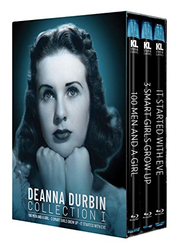 Deanna Durbin Collection I [100 Men and a Girl / Three Smart Girls Grow Up / It Started with Eve] [Blu-ray]
