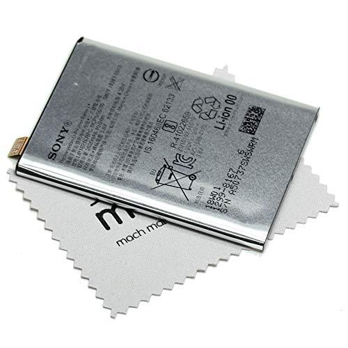 Akku für Sony Original LIP1621ERPC 1299-8167 für Sony Xperia X, Xperia X Dual, Xperia L1 mit mungoo Bildschirmputztuch