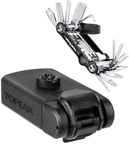 TOPEAK Toolbox T20 Multioutil, Sports en Plein air, Cyclisme, Composants de vélo, Noir, 8 x 14